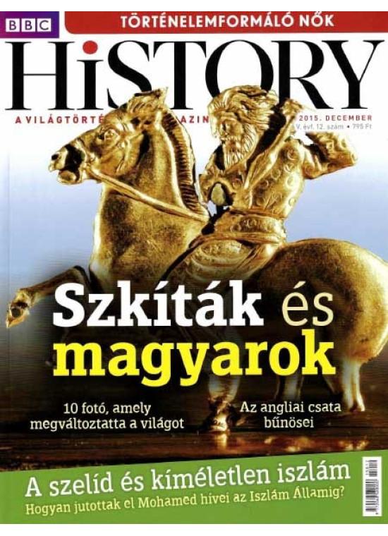 BBC History világtörténelmi magazin 5/12 - Szkíták és magyarok