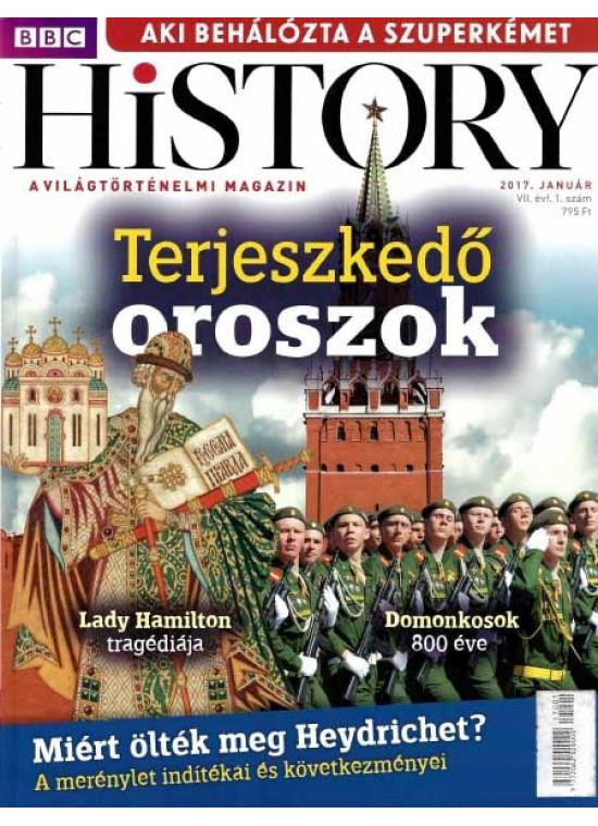 BBC History világtörténelmi magazin 7/1 - Terjeszkedő oroszok