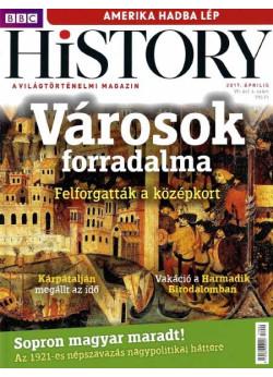 BBC History világtörténelmi magazin 7/4 - Városok forradalma  -  Felforgatták a középkort!