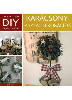 DIY Karácsonyi asztaldekorációk