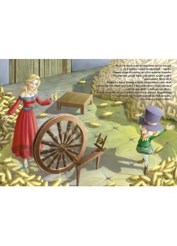 Grimm meséi (Aranyhaj, A békakirályfi, Rumpelstiltskin, A manók és a cipész)