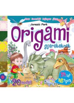 Origami gyerekeknek - Jurassic Park