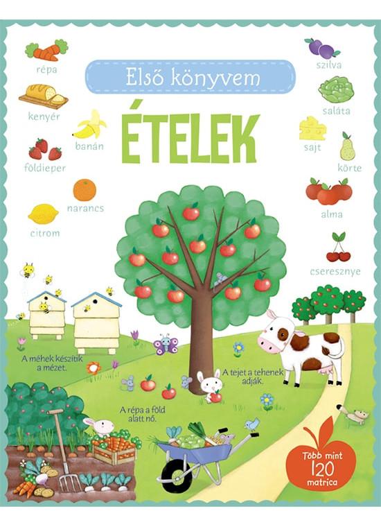 Első könyvem - Ételek