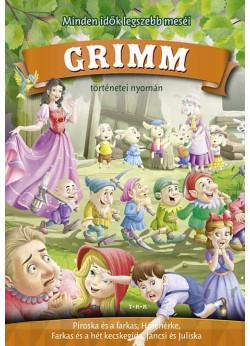 Grimm meséi (Piroska és a farkas, Hófehérke, A hét kecskegida, Jancsi és Juliska)