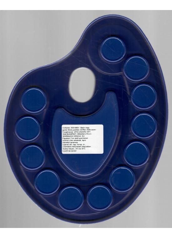 Vízfesték paletta 12színű ASTRA nagygombos (30mm) - Írószer