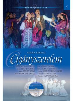 Híres operettek sorozat, 5. kötet  Cigányszerelem - Zenei CD melléklettel