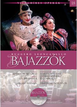 Világhíres operák sorozat, 18. kötet - Bajazzók - Zenei CD melléklettel