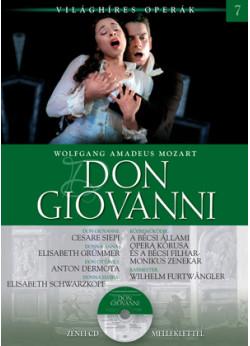 Világhíres operák sorozat, 7. kötet - Don Giovanni - Zenei CD melléklettel