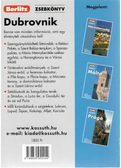 Berlitz zsebkönyv / Dubrovnik