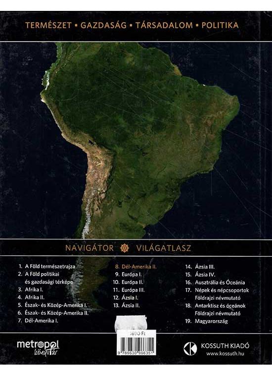 Dél-Amerika II.rész / Navigátor - Világatlasz