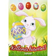 Kellemes húsvétot! - kifestő