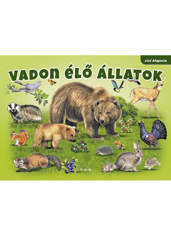 Vadon élő állatok (első könyveim)
