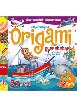 Origami gyerekeknek - Majomkaland