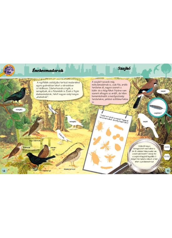 A természet nyomozója - városok, parkok, állatkertek