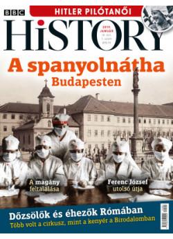 BBC History világtörténelmi magazin 9/1 - A spanyolnátha Budapesten