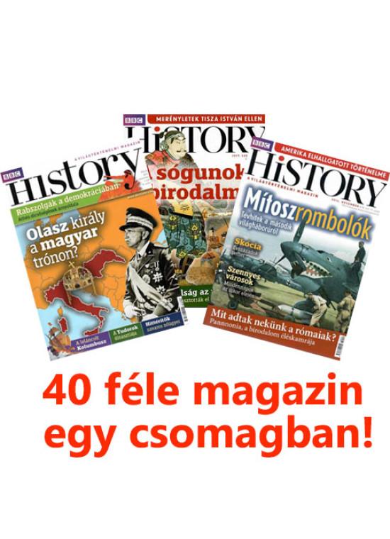 BBC History magazin akciós csomag - 40 cím
