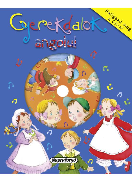 Gyerekdalok angolul - cd-vel