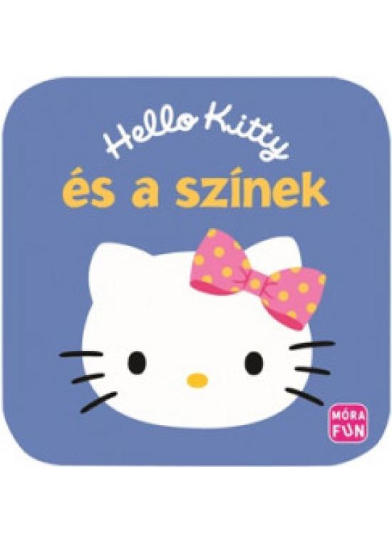 Hello Kitty és a színek habkönyv
