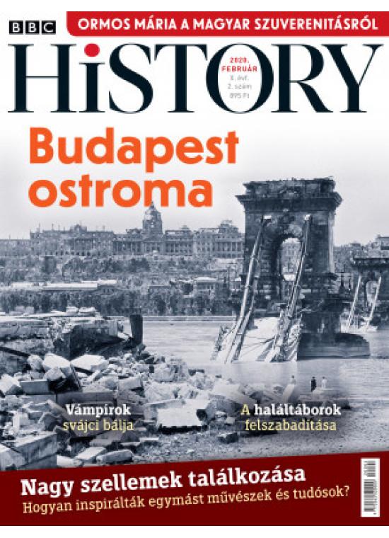 BBC History világtörténelmi magazin 10/2 - Budapest ostroma