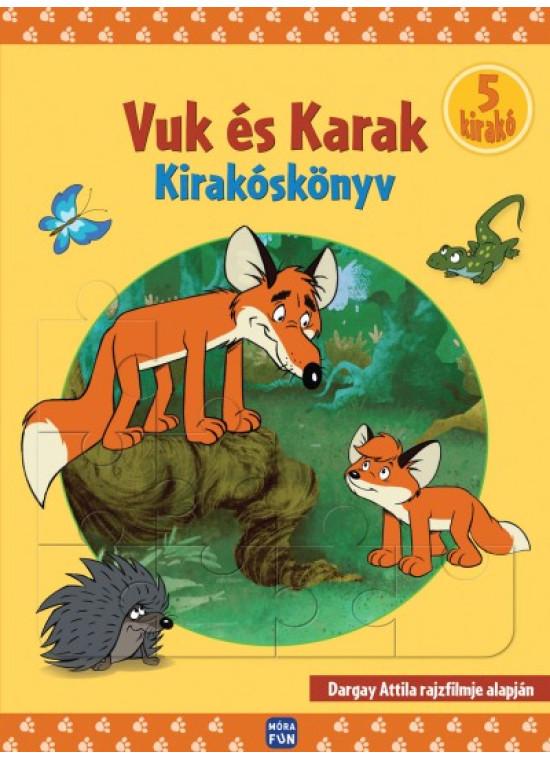 Vuk és Karak - Kirakóskönyv