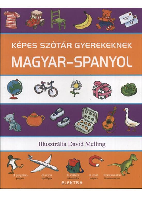 Képes szótár gyerekeknek magyar-spanyol
