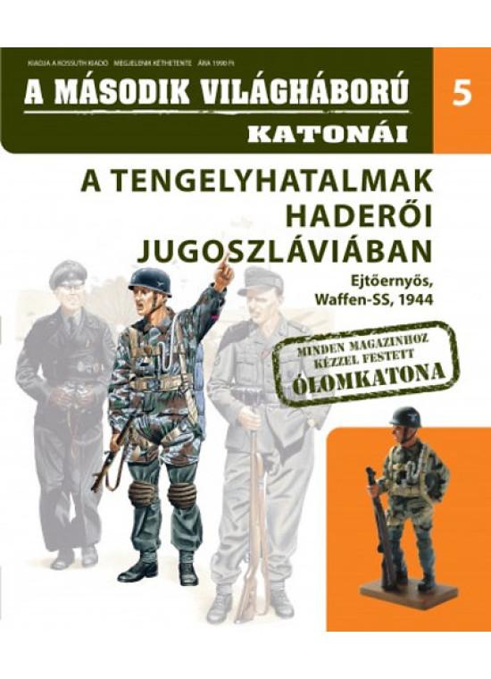 A második világháború katonái 5. - A tengely haderői Jugoszláviában - Ejtőernyős ajándék ólomkatona