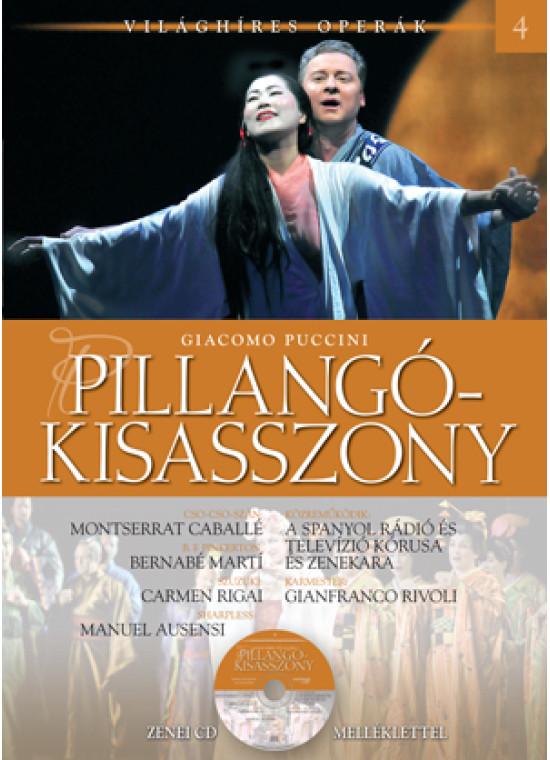 Világhíres operák sorozat, 4. kötet - Pillangókisasszony