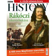 BBC History világtörténelmi magazin 10/11 - Rákóczi sikeres bukása