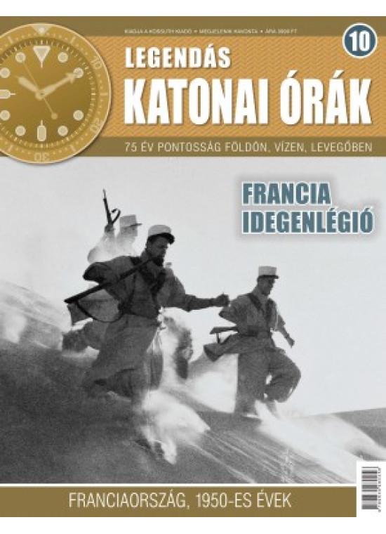 Legendás katonai órák 10. szám+ajándék katonai órával