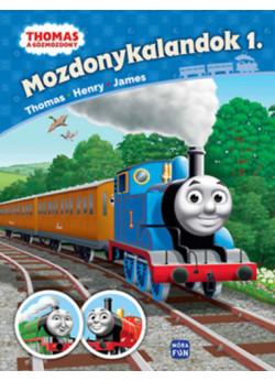 Thomas, a gőzmozdony - Mozdonykalandok 1. - Thomas, Henry és James