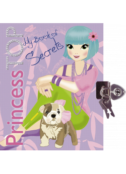Princess TOP - My book of secrets (lila)