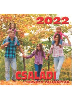 Falinaptár Családi tervező 2022