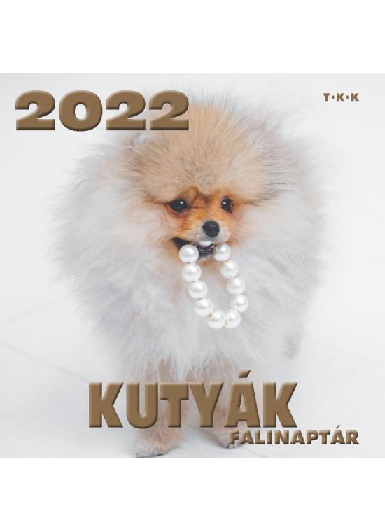 Falinaptár Kutyák 2022