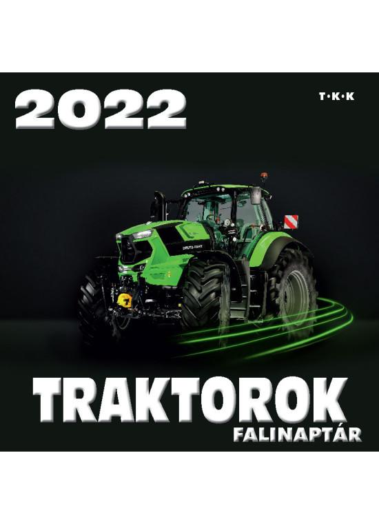 Falinaptár Traktorok 2022