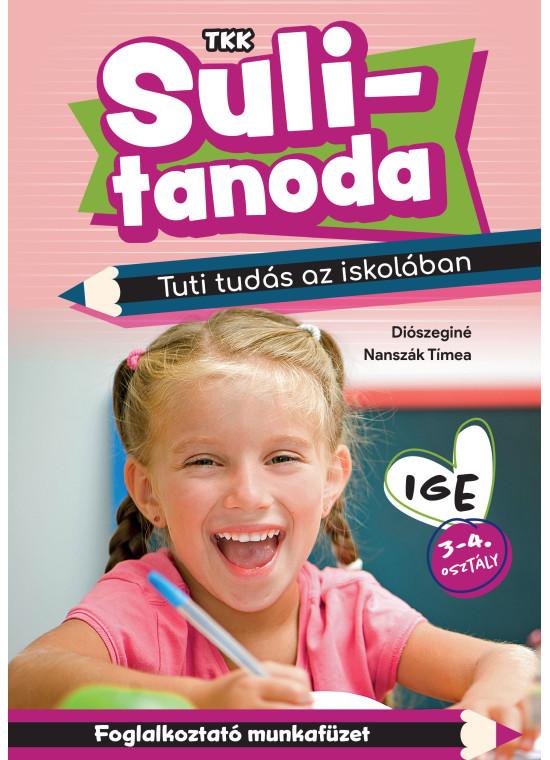 Sulitanoda - Tuti tudás az iskolában - Ige 3-4. osztály