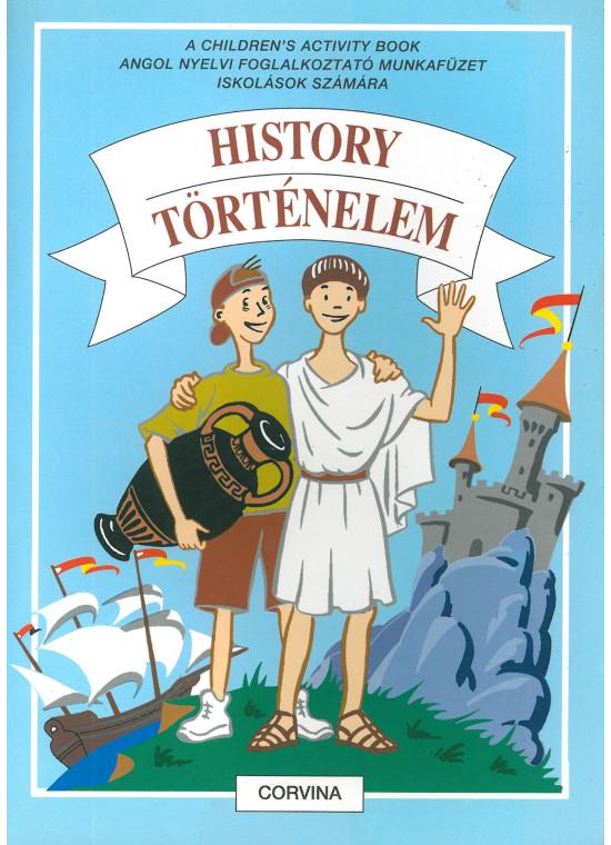 History - Történelem (angol nyelvű foglalkoztató)
