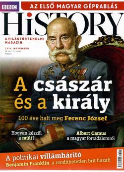 BBC History világtörténelmi magazin 6/11 /A császár és a király