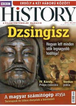 BBC History világtörténelmi magazin 6/5 /Dzsingisz