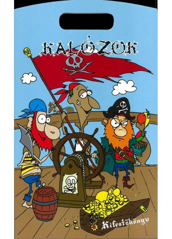 Kalózok kifestő