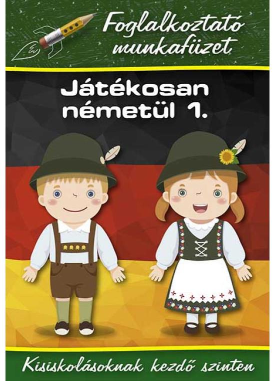 Játékosan németül 1. - Foglalkoztató munkafüzet