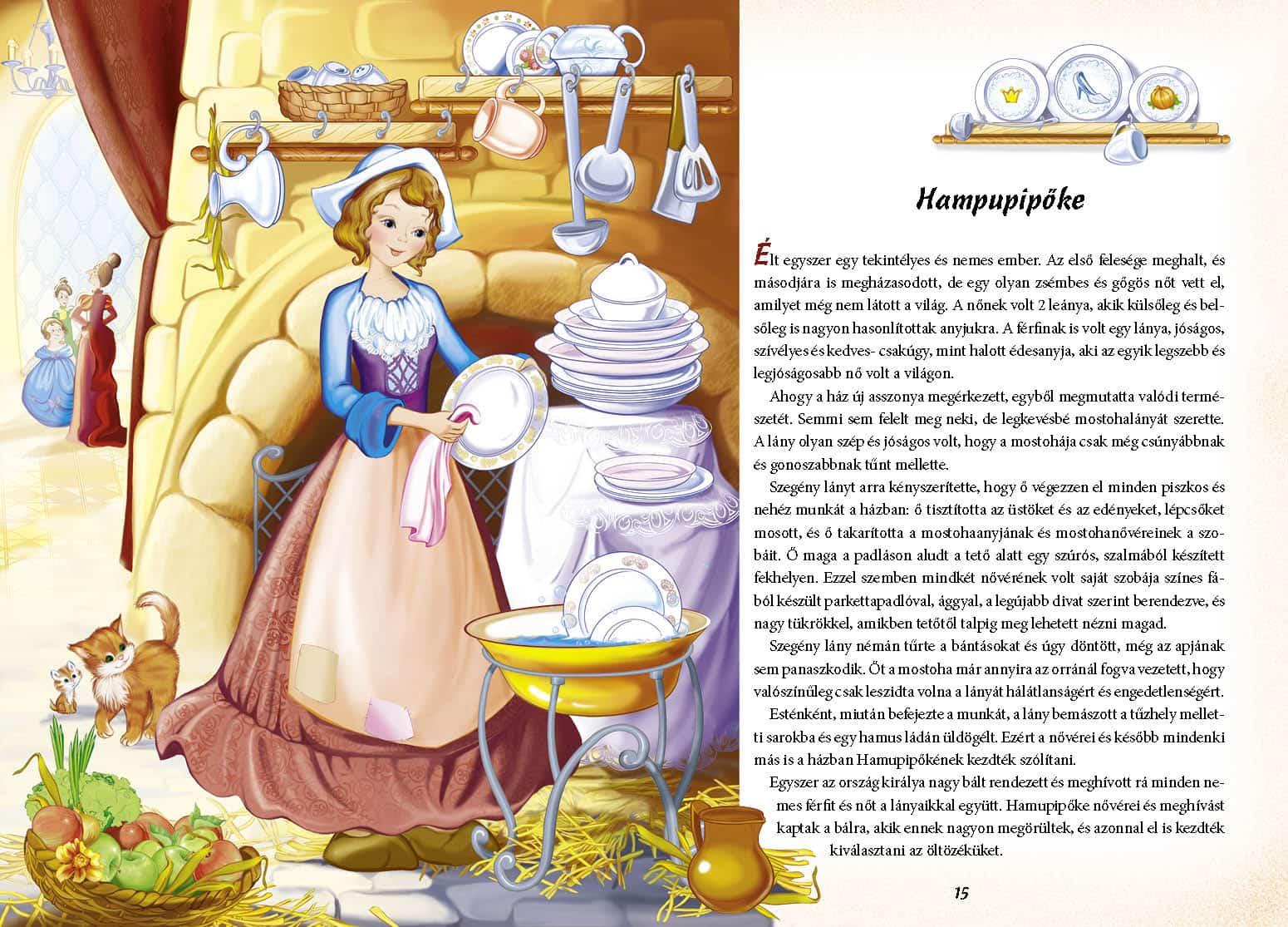 f92e640466 Hamupipőke nővérei és meghívást kaptak a bálra, akik ennek nagyon  megörültek, és azonnal el is kezdték kiválasztani az öltözéküket.