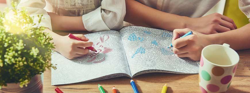 Felnőtt kifestő könyvek